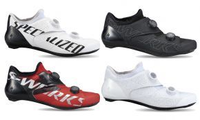 Specialized S-works Ares Road Shoes 2021 - The S-Works EXOS are the lightest cycling shoes to ever come with a Boa® dial